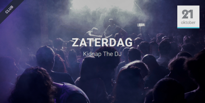 za16-12-2017 + za 21-10-2018 Kidnap The DJ